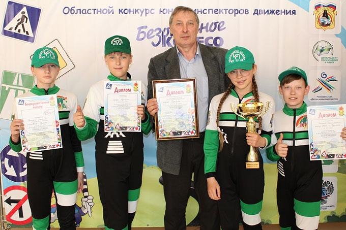 Отряд ЮИД Гимназии №47 — победитель областного этапа, шадринцы — третьи