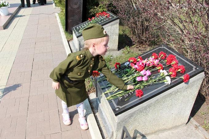 На ШААЗе прошёл на митинг ко Дню Победы