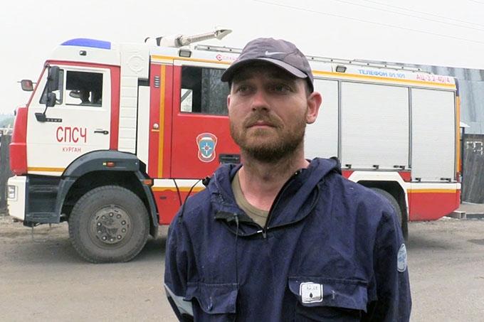Сотрудники областного чрезвычайного ведомства благодарят граждан за помощь в борьбе с огненной стихией
