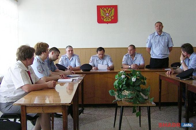 Алексей Гречущев — новый руководитель Линейного отделения полиции на станции Шадринск