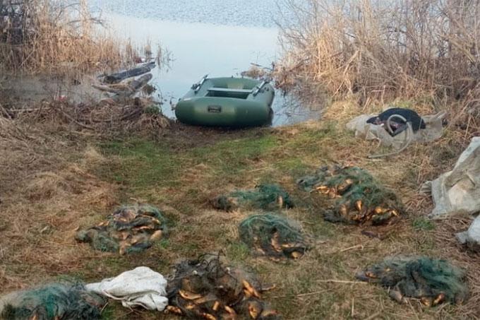 Житель Далматово незаконно ловил рыбу