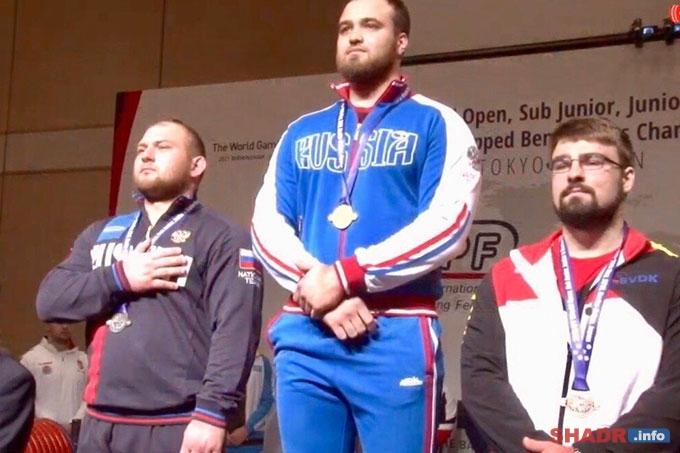 У Романа Симахина ещё одна серебряная медаль первенства мира по пауэрлифтингу