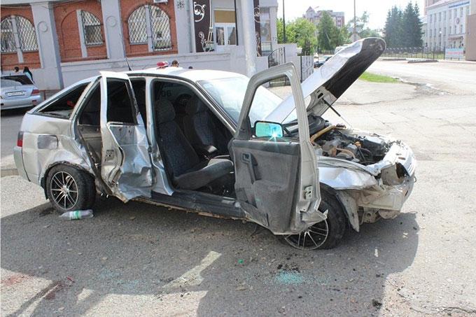 В Кургане в ДТП пострадали сразу 5 человек