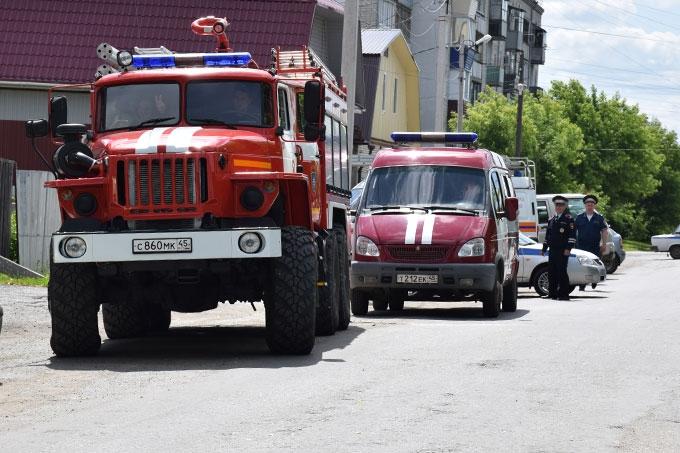 Обнаружено взрывное устройство: в Шадринске прошла антитеррористическая тренировка