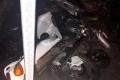 Неустановленный водитель автомобиля сбил мотоциклиста