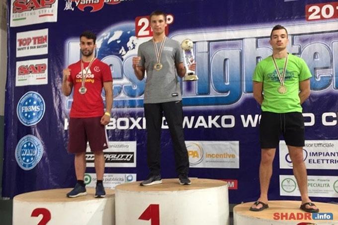 Альберт Зыков - победитель Кубка мира по кикбоксингу