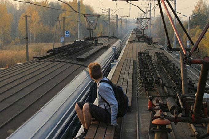 Зацепер путешествовал на грузовых поездах