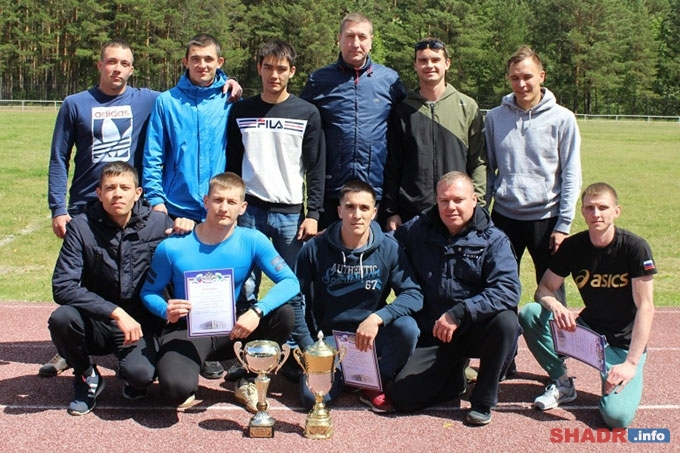 Шадринские полицейские стали победителями в силовом многоборье