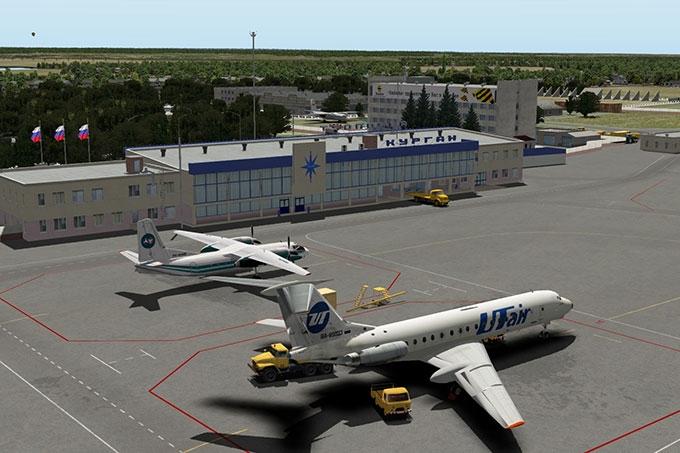 В курганском аэропорту задержан дебошир