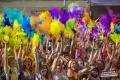 Фестивальный пятничный вечер в Шадринске: яркая дискотека и мыльно-воздушное шоу