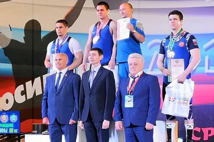 Александр Кибанов, Роман Чепик и Светлана Черемшанова - серебряные призеры чемпионата России