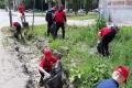 Двадцать подростков наводят порядок на улицах Шадринска