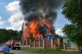 В селе Чимеево сгорел Свято-Казанский мужской монастырь