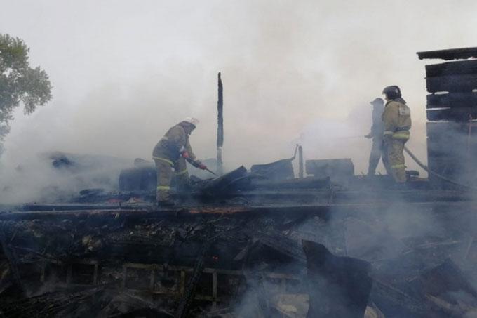 Чимеевская икона Божьей Матери сгорела полностью