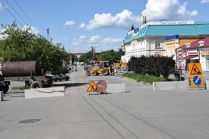 На улице Комсомольская обновят уличное освещение и сделают новые парковки