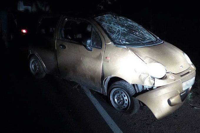 Водитель допустил съезд с дороги и погиб на месте