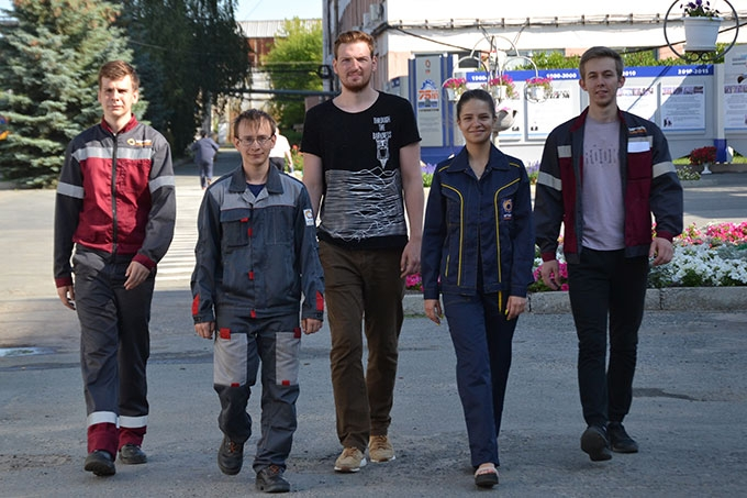 Студенты Технического университета УГМК проходят производственную практику на ШААЗе