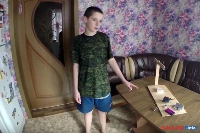 Ионолёт: Школьник из Шадринска изобрел транспорт будущего