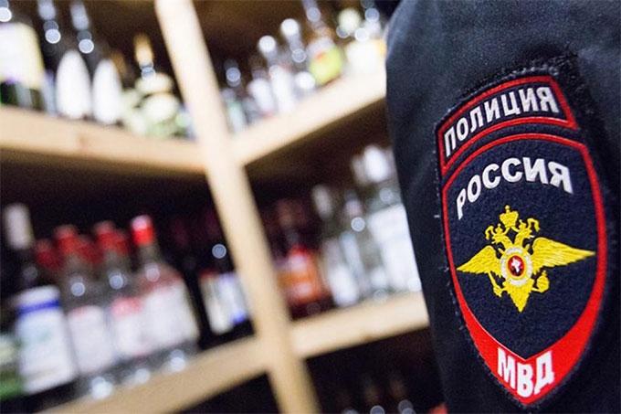 В ходе перативно-профилактической операции «Алкоголь» выявлены нарушения