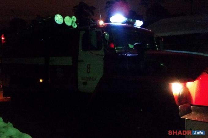 Пожарные спасали от огня жилые дома в Новом поселке