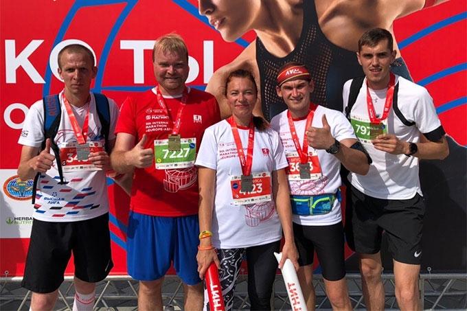 Зауральцы приняли участи в V марафоне Европа - Азия