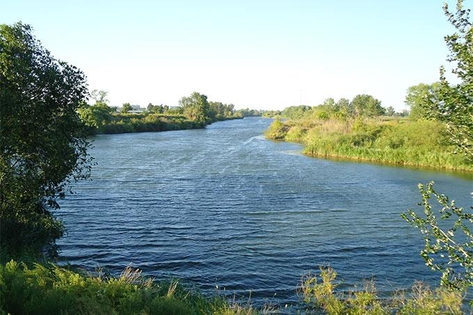 В Кургане в реке Тобол обнаружено тело местного жителя