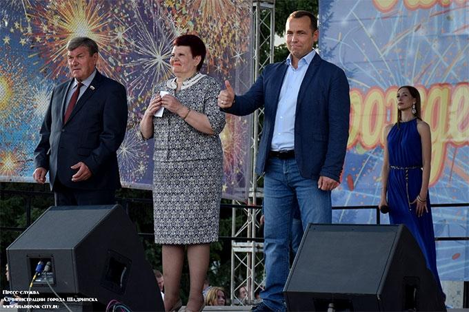 Вадим Шумков стал почетным гостем официальной части празднования 357-го дня рождения Шадринска