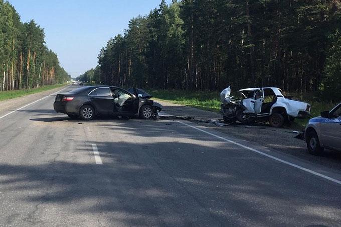 В Кетовском районе в ДТП погибли водители ТС