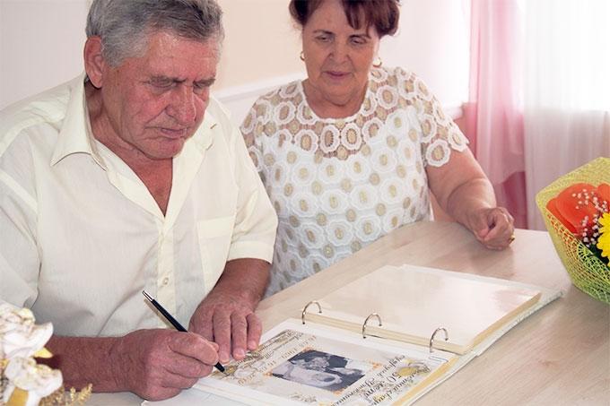 Анатолий и Валентина Утюпины отметили 50-летний юбилей супружеской жизни