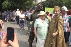 Сказочные персонажи стали гостями Дня города