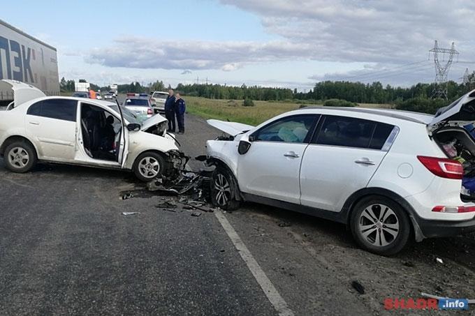 ДТП в Варгашинском районе: Трое погибших, еще трое госпитализированы