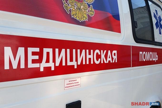 Житель Шадринска совершил ДТП на трассе