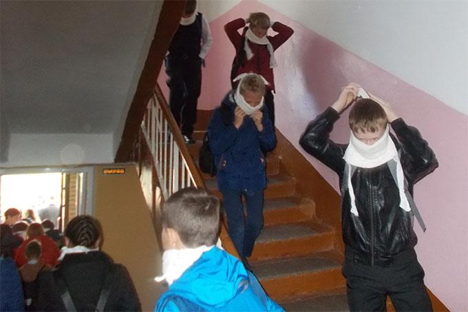 На территории Шадринска проводится «Месячник безопасности детей»