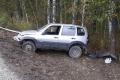 Житель Шадринска допустил съезд с дороги и опрокидывание
