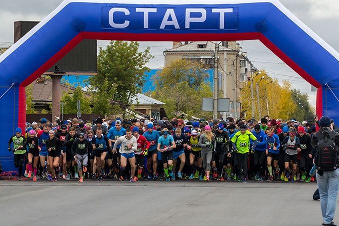 Юбилейный XL Шадринский легкоатлетический марафон стал рекордным по количеству участников