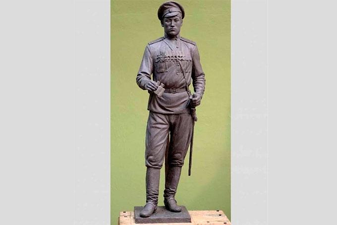 Рассматриваются варианты размещения в Шадринске трехметровой бронзовой скульптуры Василию Черемисину