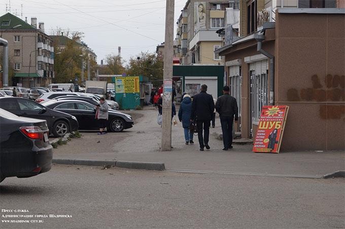 """""""Использовать рекламные штендеры - запрещено"""": В Шадринске прошел очередной """"санитарный патруль"""""""