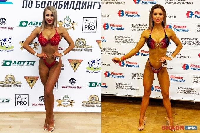 Шадринские девушки среди призеров соревнований по бодибилдингу и фитнесу