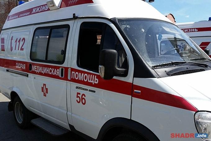 В Шадринске несовершеннолетний допустил падение с квадроцикла