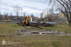 Работы по установке памятника В.А.Черемисину начались
