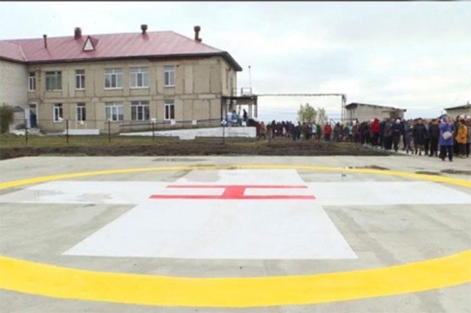 Площадка для санитарной авиации открыта в селе Частоозерье