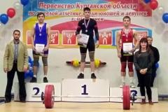 Шадринск принял Первенство Курганской области по тяжелой атлетике среди юношей и девушек до 19 лет