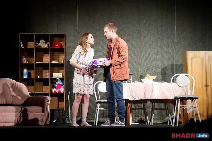 «Фантазии Лизы» - молодежная комедия на сцене Шадринского драматического театра