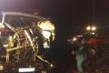 В Шадринском районе произошло столкновение большегруза с трактором
