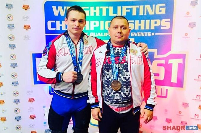 Александр Кибанов – победитель Первенства Европы по тяжелой атлетике