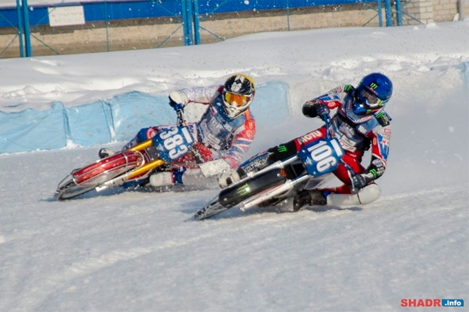 Шадринск вновь примет этап финала личного чемпионата мира по мотогонкам на льду