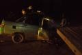 Водитель легковушки допустил столкновение с прицепом