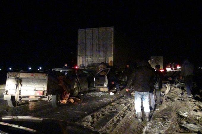 Очередная авария на месте ремонта дорог