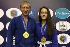 Александр Серебринников завоевал золотую медаль по грэпплингу