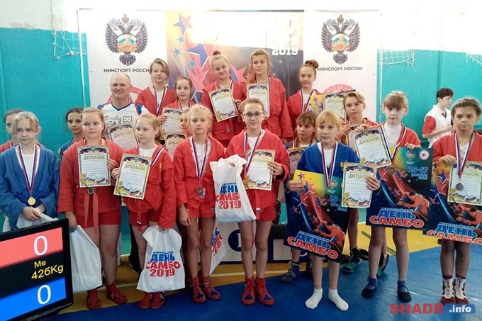 Шадринск принимал областные соревнования по самбо